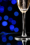 Champagne on abstract background Royalty Free Stock Photos