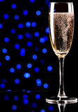 Champagne on abstract background Stock Image