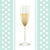 Champagne background Royalty Free Stock Image