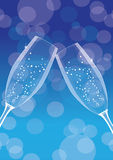 Champagne background 3 Royalty Free Stock Photos