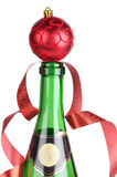 Champagne and ball Stock Images