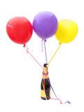 Champagne and balloons Royalty Free Stock Photography