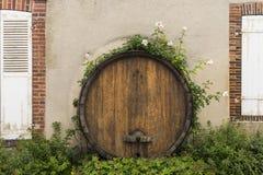 Champagne Barrel Hautvillers Image stock