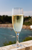 Champagne beach Royalty Free Stock Photo
