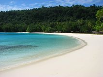 Champagne Beach, Vanuatu Royalty Free Stock Photos