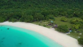 Champagne Beach, Vanuatu, isla de Espiritu Santo, Luganville, South Pacific metrajes