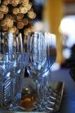 Champagne am bereiten Lizenzfreies Stockfoto