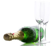 Free Champagne Bottle Stock Photography - 15034522