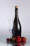 Champagne bottle Stock Image