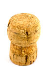 Champagne Bottle Cork. A bottle cork from a bottle of sparkling wine or champagne stock image