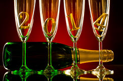 Champagne 2014 Royalty Free Stock Photos