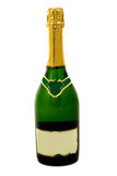 Champagne bottle full Royalty Free Stock Photos