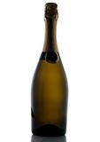 Champagne bottle isolated on a white background Stock Images
