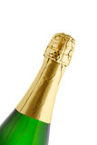 Champagne bottle isolated on white background Royalty Free Stock Photo
