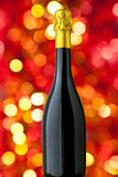 Champagne bottle. With nice blur Stock Image