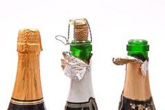 Champagne Bottles Stock Image