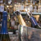 Champagne bottles Stock Images