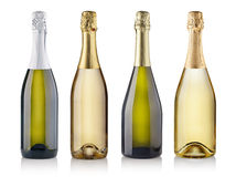 Champagne bottles Stock Photo