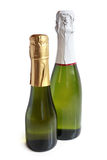 Champagne bottles Stock Photos