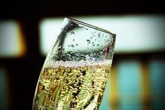 Champagne bubblar Royaltyfri Foto