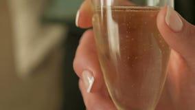 Champagne bubblar lager videofilmer