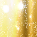 Champagne bubblar Royaltyfri Bild