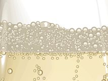 Champagne bubble Stock Images
