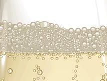 Champagne bubble vector illustration
