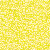 Champagne bubble seamless background Stock Images