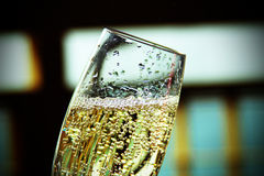 Champagne Bubbles Foto de Stock Royalty Free