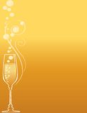 Champagne and Bubbles Royalty Free Stock Image