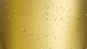 Champagne bubbles air Stock Image