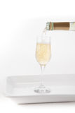 Champagne with Bubbles Royalty Free Stock Photos