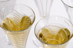 Champagne Bubbling Stock Images