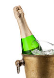 Champagne in bucket Stock Photography