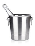 Champagne in bucket Stock Image