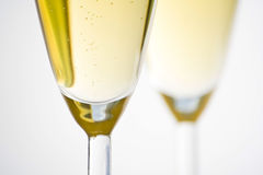 Champagne for celebrate christmas festive Royalty Free Stock Photos