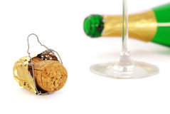 Champagne celebration Stock Images