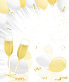 Champagne Celebration Royalty Free Stock Photo