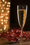Champagne celebration. royalty free stock photos