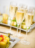 Champagne celebration Stock Image