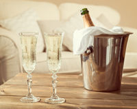 Champagne Celebration Royalty Free Stock Photos