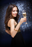 Champagne celebration. Stock Photography