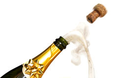 Champagne celebrations Royalty Free Stock Images