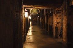 Champagne Cellar in Francia Fotografia Stock Libera da Diritti