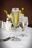 Champagne in classic glass Royalty Free Stock Photo