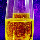 Champagne. Closeup of some glasses with champagne Royalty Free Stock Image