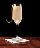 Champagne cocktail Stock Images