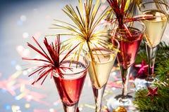 Champagne-Cocktail stockbilder