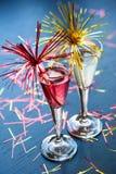 Champagne-Cocktail Stockbild